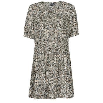 Υφασμάτινα Γυναίκα Κοντά Φορέματα Vero Moda VMELIN Beige