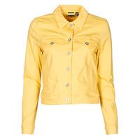 Υφασμάτινα Γυναίκα Τζιν Μπουφάν/Jacket  Vero Moda VMHOTSOYA Yellow