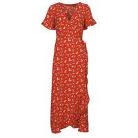 Υφασμάτινα Γυναίκα Μακριά Φορέματα Vero Moda VMSAGA Red
