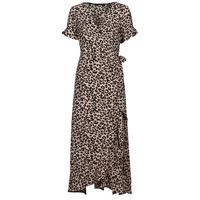Υφασμάτινα Γυναίκα Μακριά Φορέματα Vero Moda VMSAGA Beige