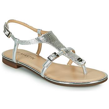 Παπούτσια Γυναίκα Σανδάλια / Πέδιλα JB Martin 2GAELIA Silver