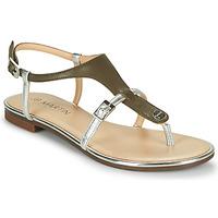 Παπούτσια Γυναίκα Σανδάλια / Πέδιλα JB Martin 2GAELIA Kaki / Silver