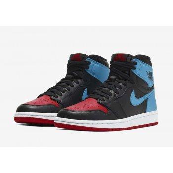 Παπούτσια Ψηλά Sneakers Nike Air Jordan 1 High Unc to Chicago  Dark Powder Blue/Gym Red-Black-White