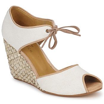 Παπούτσια Γυναίκα Σανδάλια / Πέδιλα Coclico JIEN Άσπρο