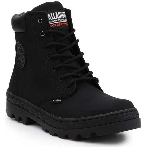 Παπούτσια Γυναίκα Ψηλά Sneakers Palladium Pallabosse SC Waterproof 96868-008-M black