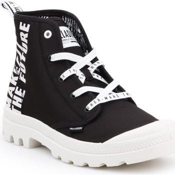 Παπούτσια Ψηλά Sneakers Palladium Pampa HI Future 76885-002-M white, black