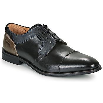 Παπούτσια Άνδρας Derby Redskins WINDSOR Black / Marine / Grey