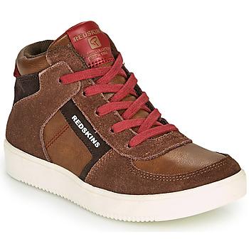 Παπούτσια Αγόρι Ψηλά Sneakers Redskins LAVAL KID Brown / Red