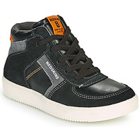 Παπούτσια Αγόρι Ψηλά Sneakers Redskins LAVAL KID Black / Anthracite