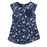Υφασμάτινα Κορίτσι Ολόσωμες φόρμες / σαλοπέτες Ikks XS33010-48 Marine