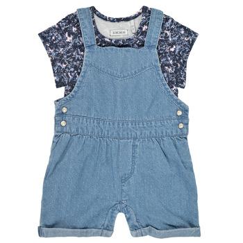 Υφασμάτινα Κορίτσι Ολόσωμες φόρμες / σαλοπέτες Ikks XS37010-84 Μπλέ