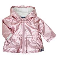 Υφασμάτινα Κορίτσι Παρκά Ikks XS42010-31 Ροζ