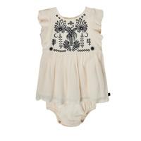 Υφασμάτινα Κορίτσι Κοντά Φορέματα Ikks XS30060-11 Άσπρο