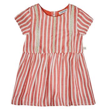 Υφασμάτινα Κορίτσι Κοντά Φορέματα Ikks XS30000-35 Red