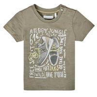 Υφασμάτινα Αγόρι T-shirt με κοντά μανίκια Ikks XS10141-57 Kaki
