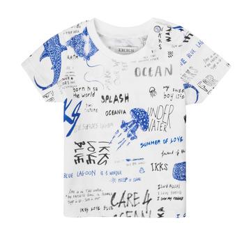 Υφασμάτινα Αγόρι T-shirt με κοντά μανίκια Ikks XS10021-19 Multicolour