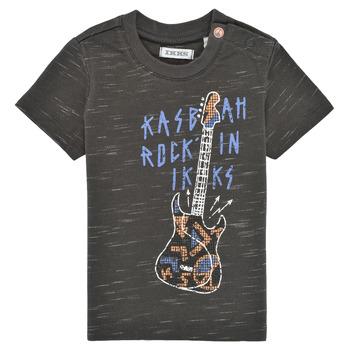 Υφασμάτινα Αγόρι T-shirt με κοντά μανίκια Ikks XS10091-27 Grey