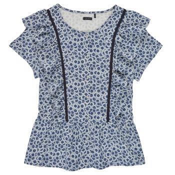 Υφασμάτινα Κορίτσι Μπλούζες Ikks XS12052-48-J Μπλέ