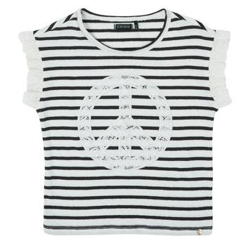 Υφασμάτινα Κορίτσι T-shirt με κοντά μανίκια Ikks XS10022-19-C Multicolour