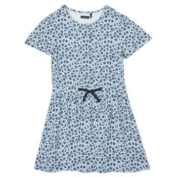 Υφασμάτινα Κορίτσι Κοντά Φορέματα Ikks XS30102-48-C Μπλέ