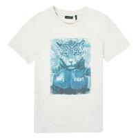Υφασμάτινα Αγόρι T-shirt με κοντά μανίκια Ikks XS10183-22-C Άσπρο