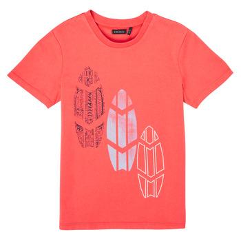 Υφασμάτινα Αγόρι T-shirt με κοντά μανίκια Ikks XS10043-79-C Red