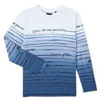 Υφασμάτινα Αγόρι Μπλουζάκια με μακριά μανίκια Ikks XS10003-19-C Multicolour