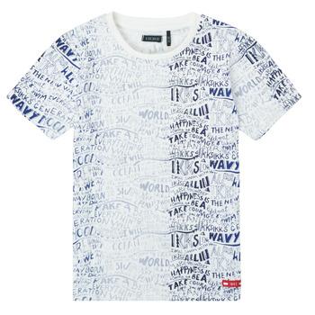 Υφασμάτινα Αγόρι T-shirt με κοντά μανίκια Ikks XS10063-19-C Multicolour