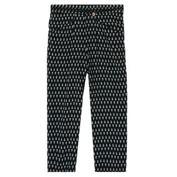Υφασμάτινα Κορίτσι Παντελόνες / σαλβάρια Ikks XS22002-02-J Black