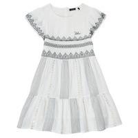 Υφασμάτινα Κορίτσι Κοντά Φορέματα Ikks XS30012-11-J Άσπρο