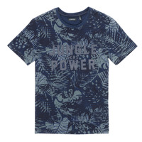 Υφασμάτινα Αγόρι T-shirt με κοντά μανίκια Ikks XS10153-46-J Marine