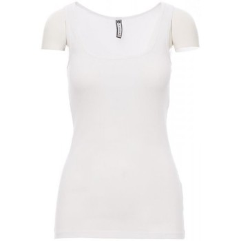 Υφασμάτινα Άνδρας T-shirt με κοντά μανίκια Payper Wear T-shirt Payper Look blanc