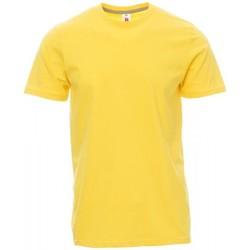 Υφασμάτινα Άνδρας T-shirt με κοντά μανίκια Payper Wear T-shirt Payper Sunset jaune