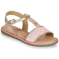 Παπούτσια Κορίτσι Σανδάλια / Πέδιλα Mod'8 PAILLETTA Ροζ
