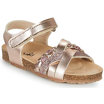 Παπούτσια Κορίτσι Σανδάλια / Πέδιλα Mod'8 KOENIA Ροζ / Χρυσο