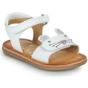 Παπούτσια Κορίτσι Σανδάλια / Πέδιλα Mod'8 CLOONIE Άσπρο
