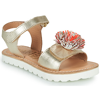 Παπούτσια Κορίτσι Σανδάλια / Πέδιλα Mod'8 JELLINE Gold / Corail