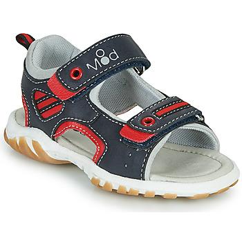 Παπούτσια Αγόρι Σανδάλια / Πέδιλα Mod'8 TOPPY Marine / Red