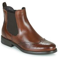 Παπούτσια Γυναίκα Μπότες Betty London JOSTA Brown