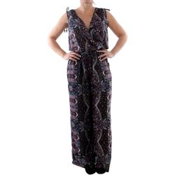 Υφασμάτινα Γυναίκα Ολόσωμες φόρμες / σαλοπέτες Couleurs Du Monde LI-0023 Multicolor Multicolor