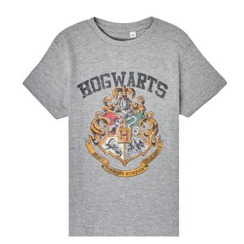 Υφασμάτινα Παιδί T-shirt με κοντά μανίκια TEAM HEROES  HARRY POTTER Grey