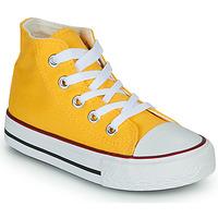 Παπούτσια Παιδί Ψηλά Sneakers Citrouille et Compagnie OUTIL Yellow