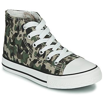 Παπούτσια Παιδί Ψηλά Sneakers Citrouille et Compagnie OUTIL Camouflage