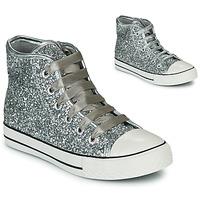 Παπούτσια Κορίτσι Ψηλά Sneakers Citrouille et Compagnie OUTIL Argenté