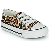 Παπούτσια Κορίτσι Χαμηλά Sneakers Citrouille et Compagnie OTAL Leopard