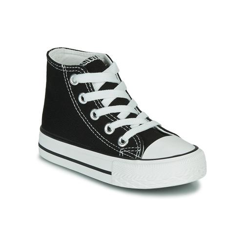 Παπούτσια Παιδί Ψηλά Sneakers Citrouille et Compagnie OUTIL Black