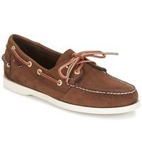 Παπούτσια Άνδρας Boat shoes Sebago DOCKSIDES Καφέ