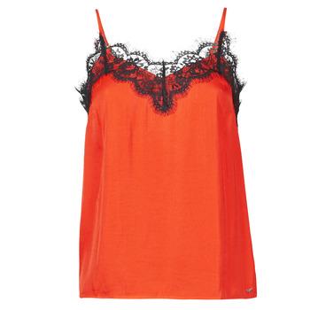 Υφασμάτινα Γυναίκα Αμάνικα / T-shirts χωρίς μανίκια Les Petites Bombes AMY Orange