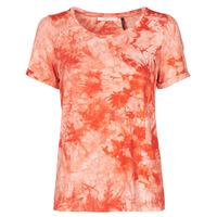 Υφασμάτινα Γυναίκα T-shirt με κοντά μανίκια Les Petites Bombes BRISEIS Orange