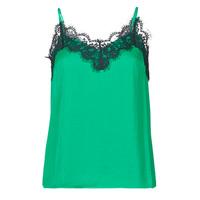 Υφασμάτινα Γυναίκα Αμάνικα / T-shirts χωρίς μανίκια Les Petites Bombes AMY Green